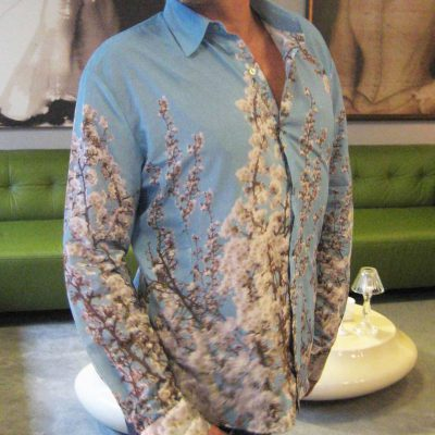 Long Sleeve Mens Shirt in St. Elmo Print