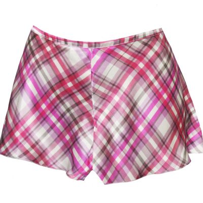 Camiknickers in Pink Check Print