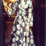 40s70s Kimono in Carlotta Print