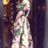 40s70s Kimono in Chelsea Print