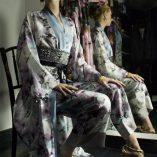 Classic Kimono in Winnie Print