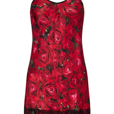 Slip Dress in Gypsy Rose Print