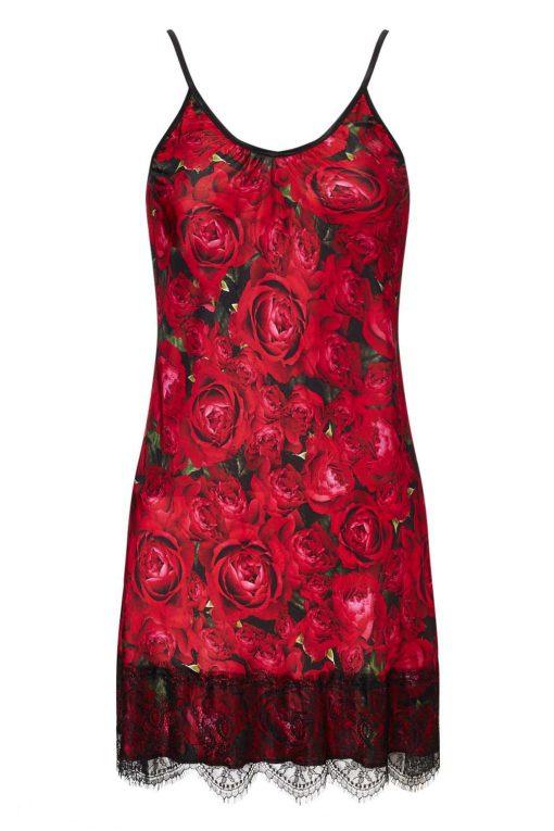 Slip Dress in Gypsy Rose Print