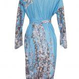 Cotton Classic Kimono in St. Elmo Print