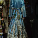 40s70s Long Kimono in St. Elmo Print