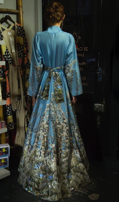 40's/70's Kimono long